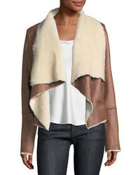 Dolce cabo faux shearling jacket medium 6727748