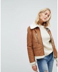 Vero Moda Faux Shearling Jacket