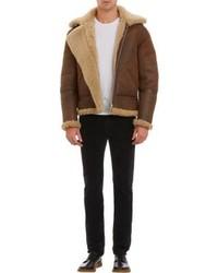 Acne Studios Ian Lambskin Shearling Jacket