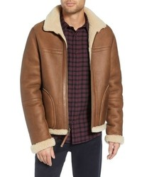 Vince Reversible Genuine Shearling Jacket