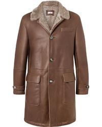 Brunello Cucinelli Shearling Coat