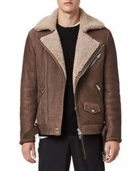 AllSaints Terro Genuine Leather Jacket