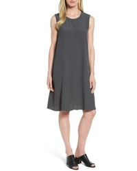 Tencel blend a line shift dress medium 5035303