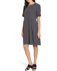 Tencel blend jersey shift dress medium 5035032