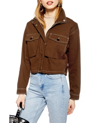Topshop Leon Shirt Jacket