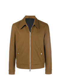 AMI Alexandre Mattiussi Snap Buttoned Zipped Jacket