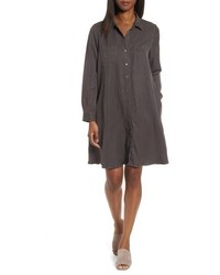 Petite classic collar a line shirtdress medium 4990498