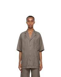 Gucci Brown Short Sleeve Shirt