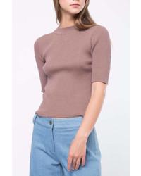 Movint Short Sleeve Sweater