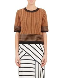O2nd Grid Jacquard Christopher Sweater