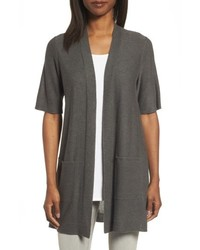 Simple tencel merino wool cardigan medium 5034914