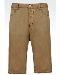 Armani Jeans Anti Fit Cotton Bermuda Shorts