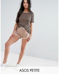 Petite petite basic runner shorts with contrast binding medium 3748841