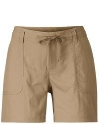 The North Face Horizon Becca Shorts Packable Upf 30 Weimaraner Brown