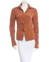 Pleated blouse medium 150708