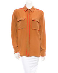 Silk blouse medium 150709