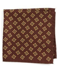 Eton Medallion Silk Pocket Square