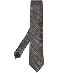 Tom Ford Cross Hatch Pattern Tie