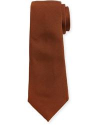 Brunello Cucinelli Ridged Silk Tie