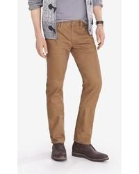 Express Light Brown Slim Fit Rocco Skinny Leg Jean