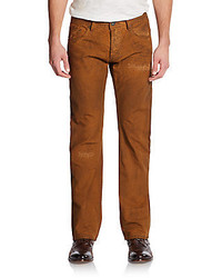 Cult of Individuality Hagen Molasses Straight Leg Jeans