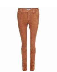 Lizzy suede skinny trousers medium 445529