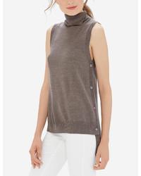 The limited sleeveless turtleneck top medium 1159362