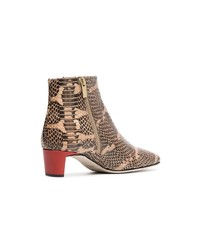 Atp Atelier Clusia 45 Snake Embossed Boots