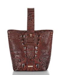 Brahmin Faith Leather Wristlet Pouchette Bag