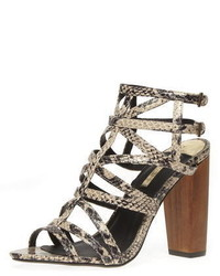 f91d08aba629 Women s Leather Heeled Sandals by Dorothy Perkins