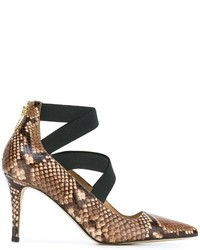 Michael michael kors michl michl kors snakeskin effect pumps medium 787977