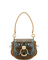 Chloé Multicolor Python Small Tess Bag