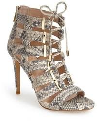Brown Snake Sandals