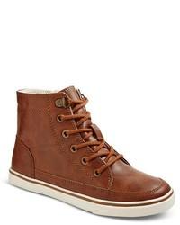 Cherokee Boys Pierre High Top Sneakers Brown