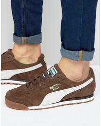 Puma Roma Sneakers In Brown 36354407