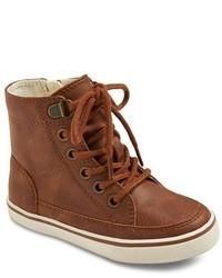 Cherokee Toddler Boys Haywood High Top Sneakers Tm Brown