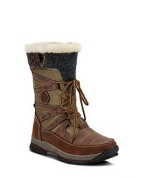 Spring Step Brurr Faux Waterproof Snow Boot