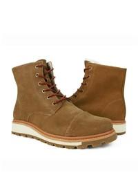 Burnetie Snow Boots M Light Brown