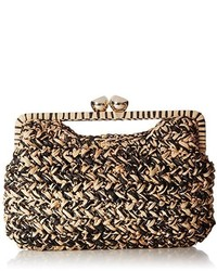 36a3948097fb1e Michael Kors Michl Kors Janey Large Crystal Embellished Raffia Clutch Out  of stock · Trina Turk Sunset Cruise Clutch