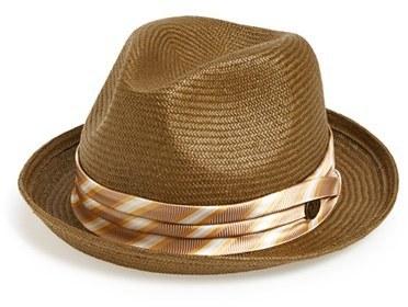 e029e1c4b233c Brown Straw Hats Goorin Bros. Goorin Brothers Cuba Straw Fedora ...