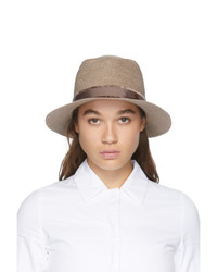 Maison Michel Tan Andre Straw Hat