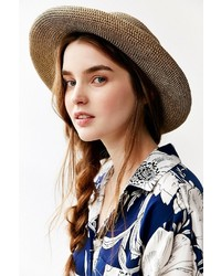 UO Keaton Rolled Straw Hat