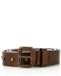 Tomas Maier Studded Leather Belt