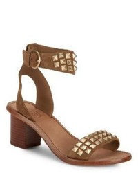 Ash Pearl Open Toe Leather Sandals