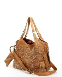 Amerileather spirit leather studded tote medium 83522