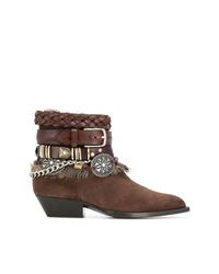 Philosophy di Lorenzo Serafini Multi Strap Ankle Boots