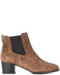 Suede ankle boots medium 6723097