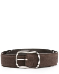Orciani Suede Buckle Belt