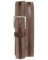 Trafalgar Suede Leather Belt