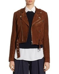 Suede moto jacket medium 4397354